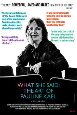 What She Said: The Art Of Pauline Kael HD Trailer