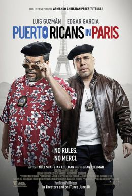 Puerto Ricans in Paris Poster