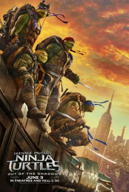 Teenage Mutant Ninja Turtles: Out of the Shadows HD Trailer