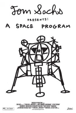 A Space Program Poster