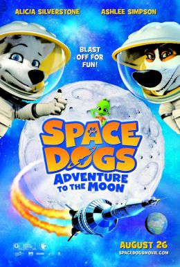 Space Dogs: Adventure to the Moon Poster