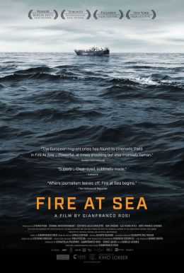 Fire at Sea Poster