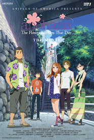 Anohana the Movie: The Flower We Saw That Day Poster