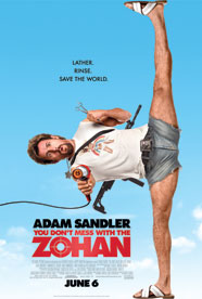 You Don&#039;t Mess with the Zohan HD Trailer