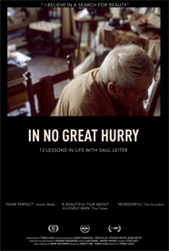 In No Great Hurry: 13 Lessons in Life with Saul Leiter HD Trailer