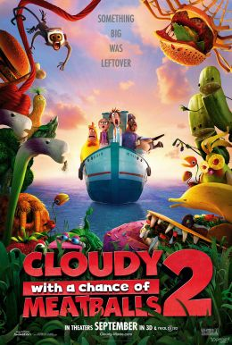 Cloudy With a Chance of Meatballs 2 HD Trailer