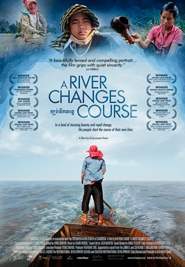 A River Changes Course Poster