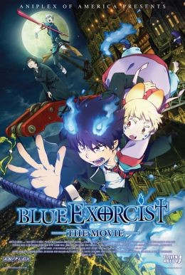 Blue Exorcist: The Movie Poster