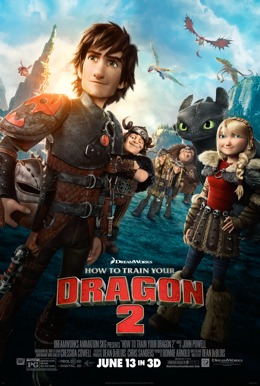 How to Train Your Dragon 2 HD Trailer