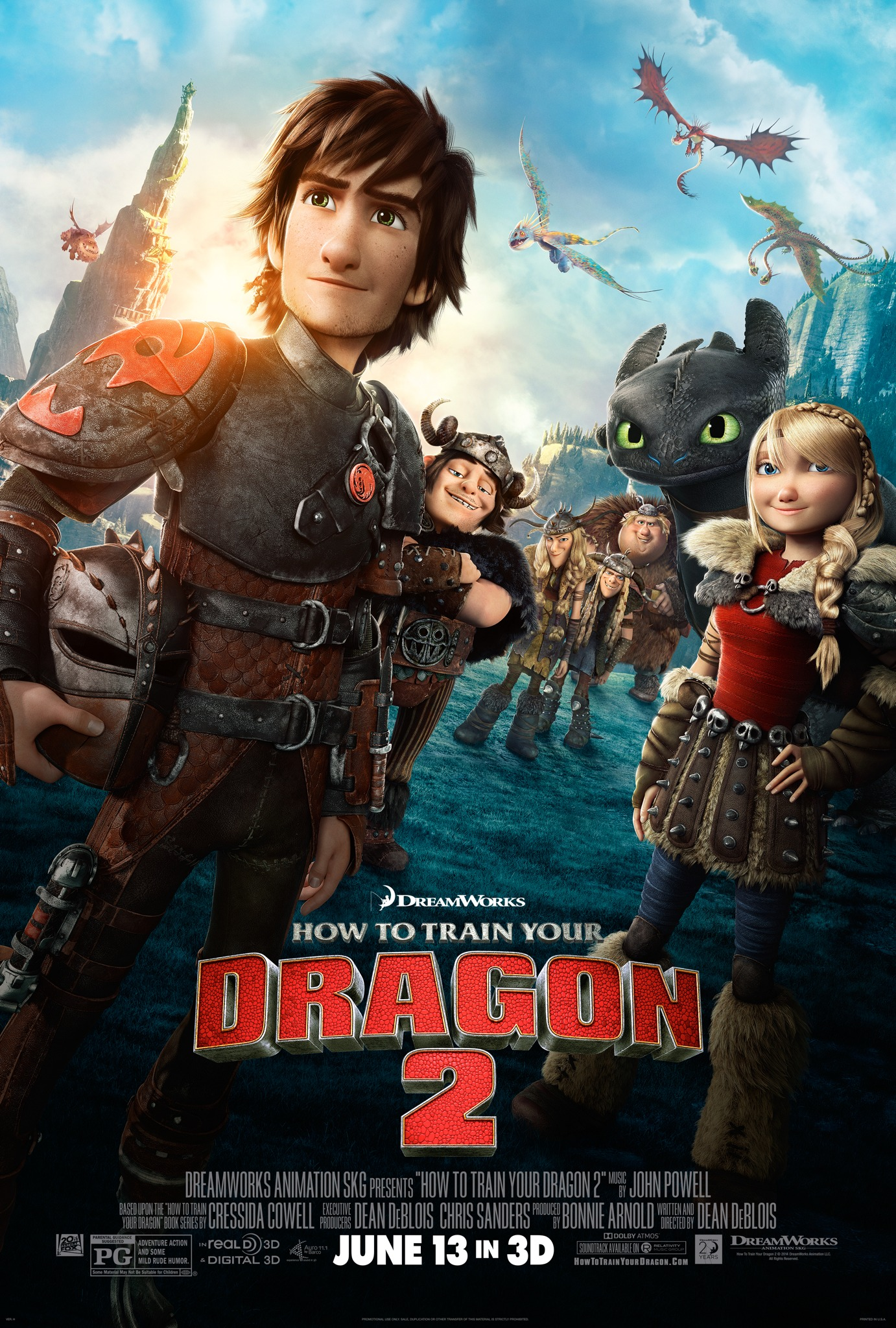 how to train your dragon 2 - hd-trailers (hdtn)