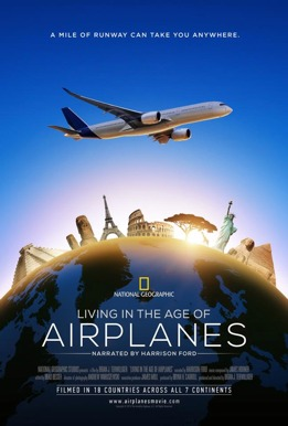Living in the Age of Airplanes Poster