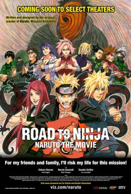 Road to Ninja - Naruto the Movie Poster
