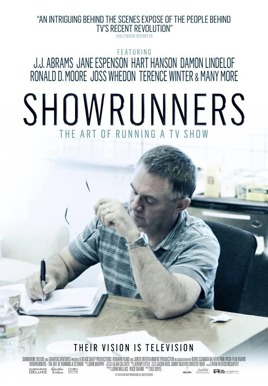 Showrunners: The Art of Running a TV Show Poster