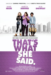 That's What She Said HD Trailer