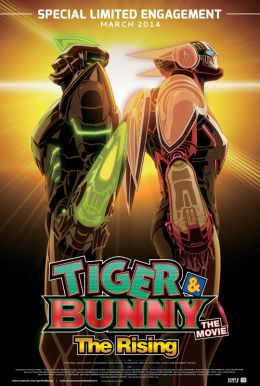 Tiger & Bunny - The Movie: The Rising Poster